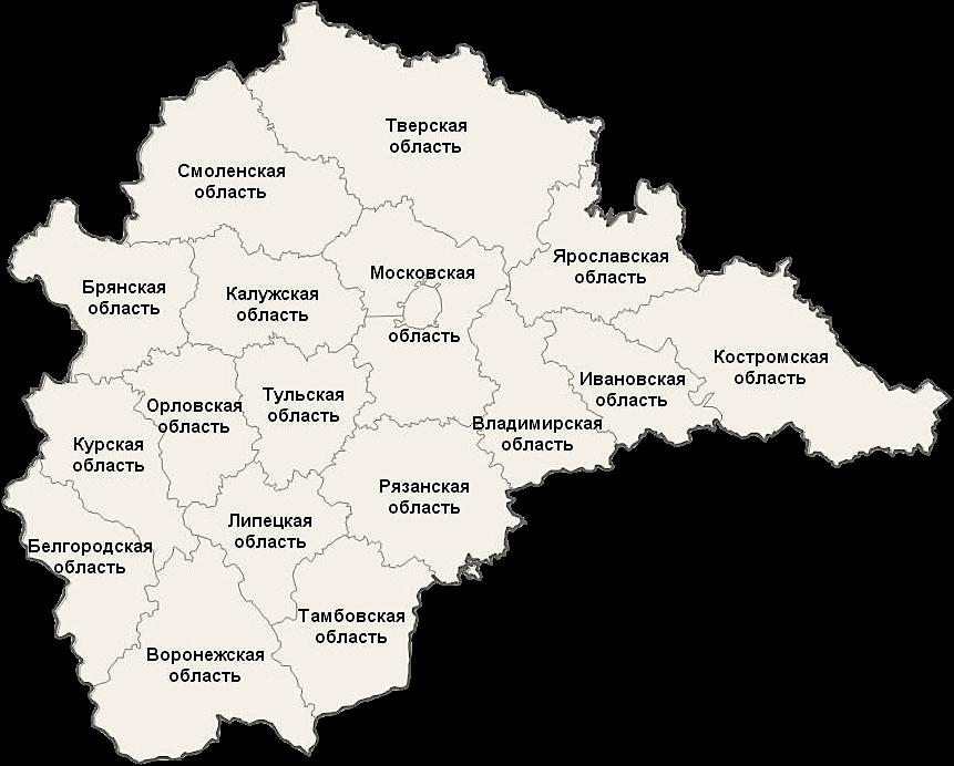 География проектов Петр и К